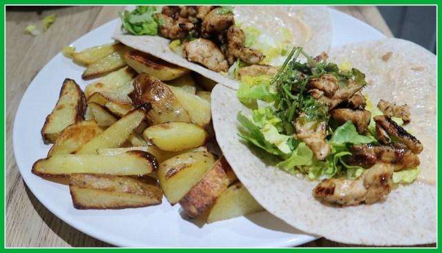 HelloFresh family box | cooking subscription box Mexican wraps