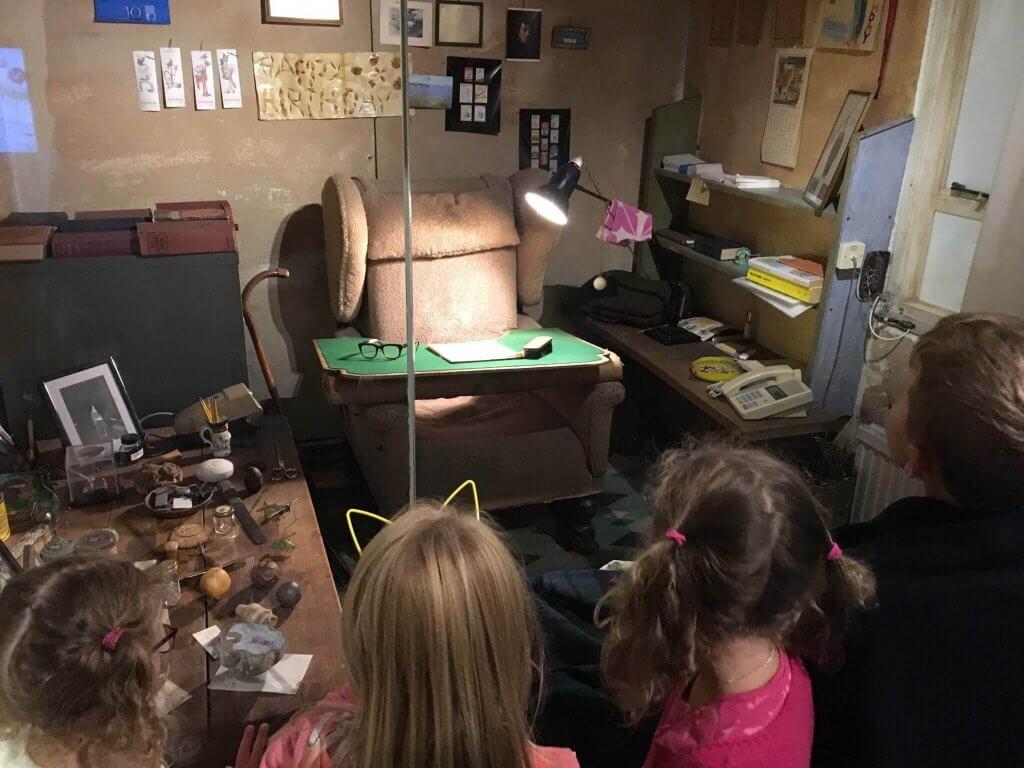 Roald Dahl museum writing hut