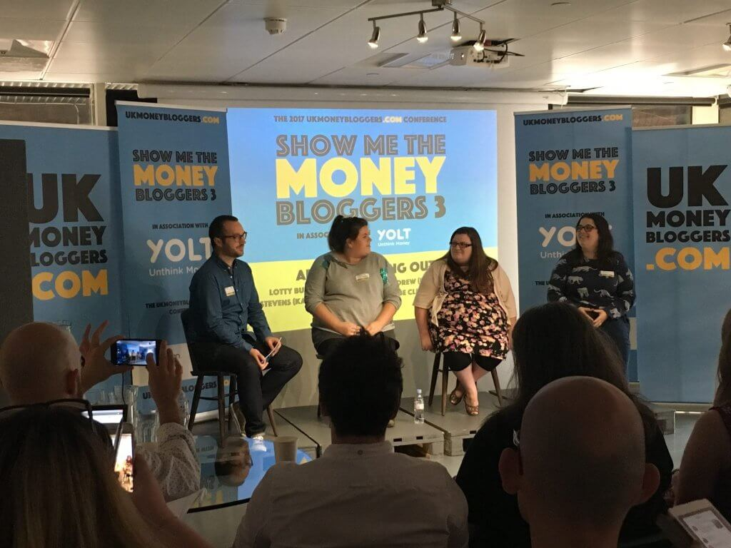 Show me the money blogger panel