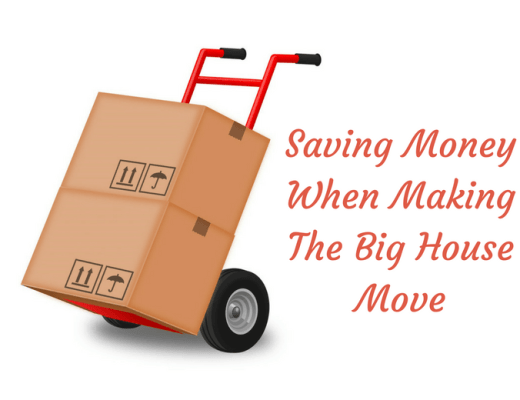 Saving money on big house move