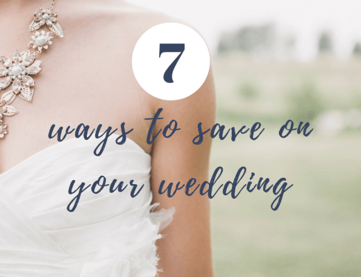 7 ways to save on your wedding cover photo