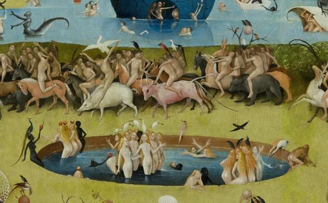 Hieronymus Bosch Garden-detail
