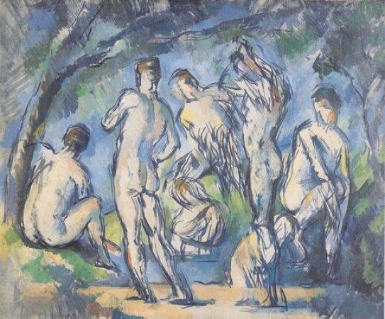 Cezanne's Seven Bathers