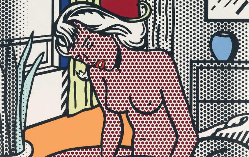 Roy-Lichtenstein-Two-Nudes-from-Nude-Series-1994