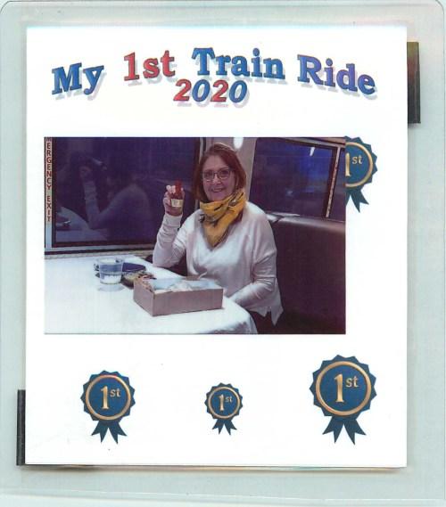 My 1st Train Ride