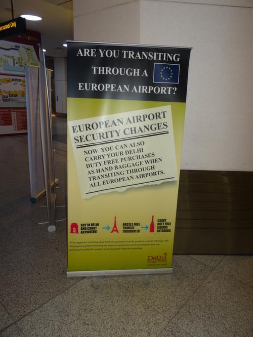 delhi airport lAGS