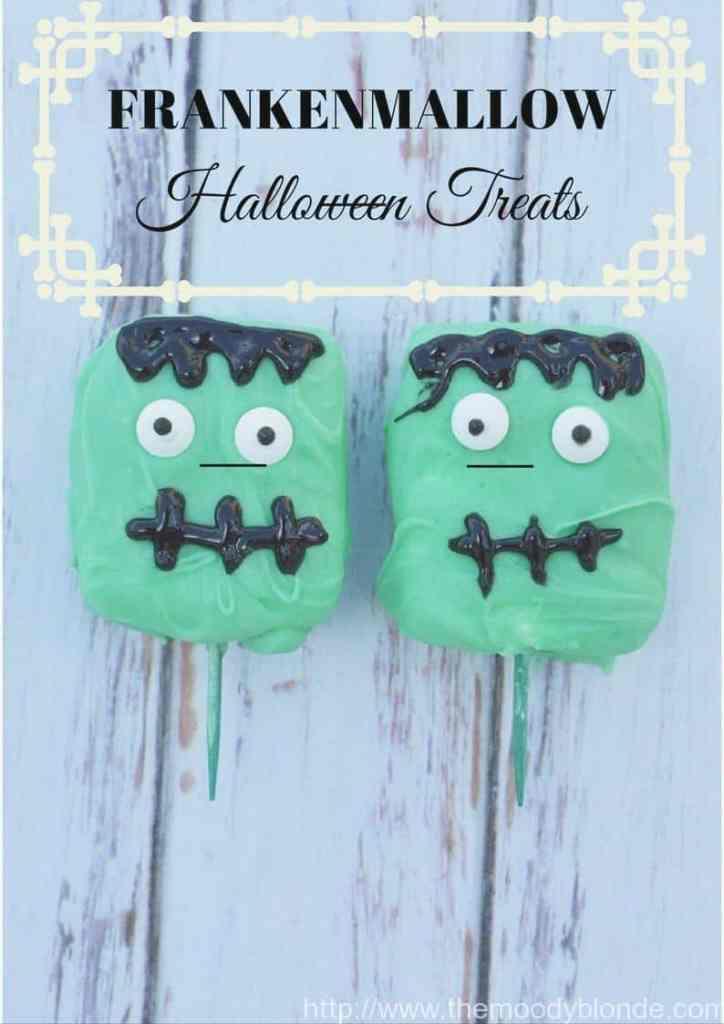 Adorable Franken-Mallow Halloween Treats Recipe