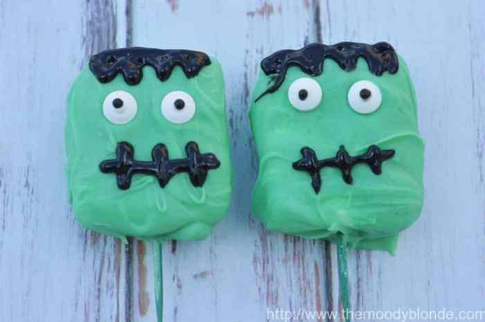franken-mallow halloween treats
