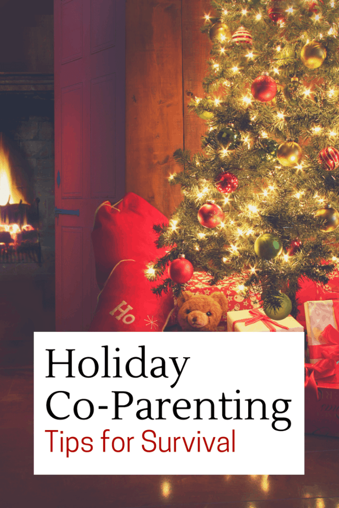 holiday co-parenting survival tips www.themoodyblonde.com