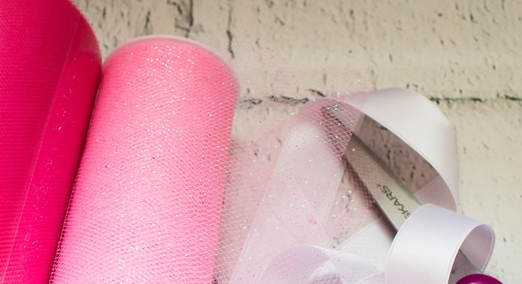 Ribbon Supplies needed for No-Sew Tutu The Moody Blonde