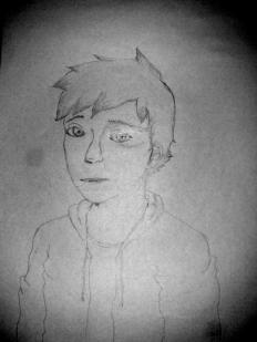 """Since """"Cirian"""" I tried to draw another cute face but didn't make it."""