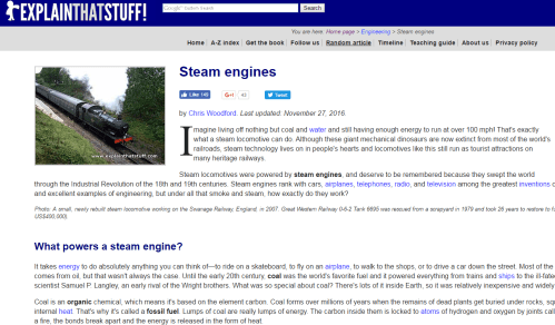 ExplainThatStuff Random Article