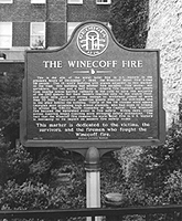 Hotel Winecoff Historic Marker