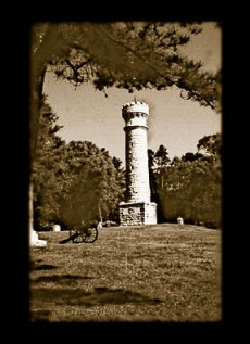 Chickamauga battlefield monument