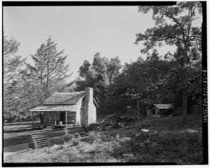 North Carolina Mountain Cabin, Humpback Rocks Visitors Center