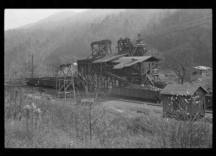 Coal Mine in Jenkins Kentucky