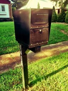 cat mailbox
