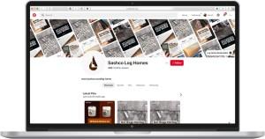 Sashco Log Homes Pintrest Profile