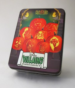 Disney Villians Pumpkin Carving Kit