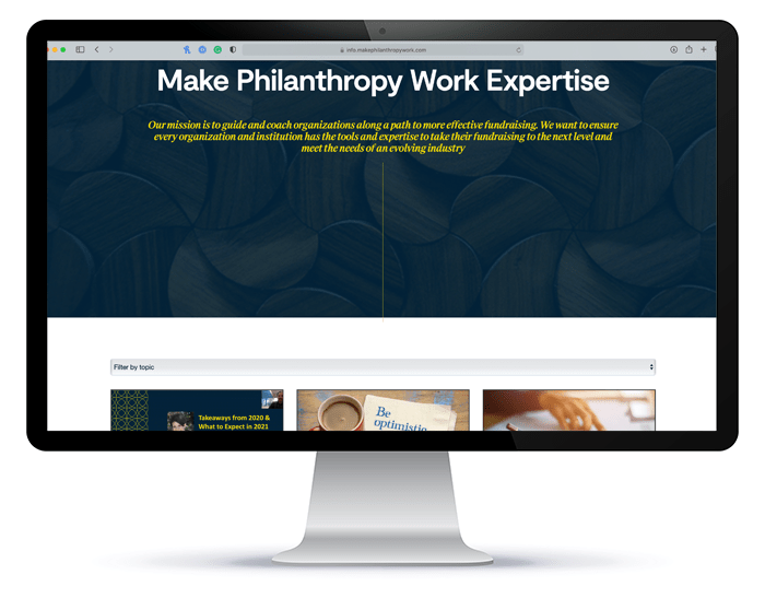 Make Philanthropy Work