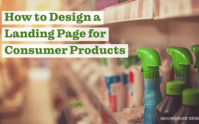 How To Design a Landing Page for Consumer Goods and Manufacturing
