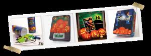 Sarah Spoelstra, Pumpkin Masters Pumpkin Carving Kits Disney