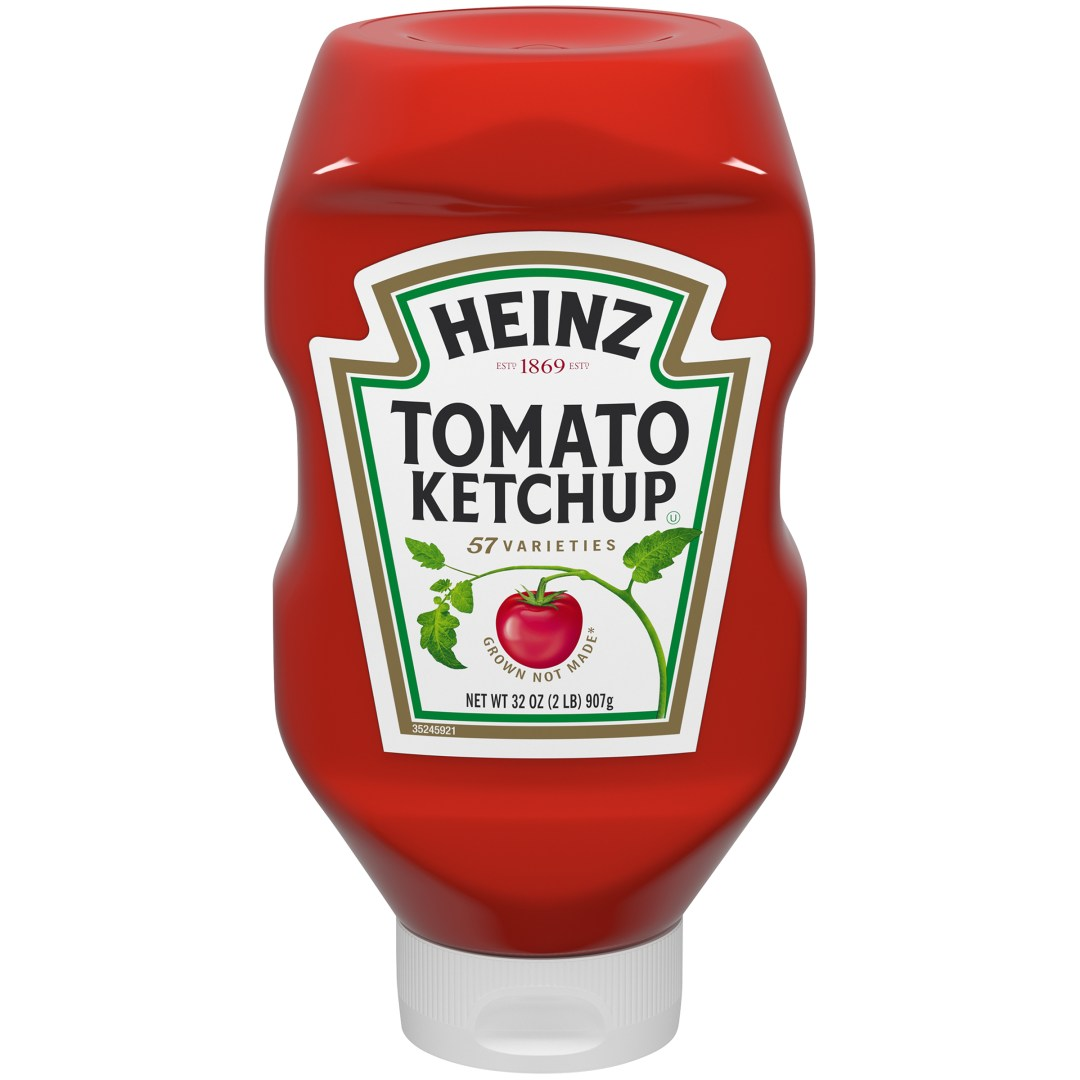 Heinz Ketchup Bottle Packaging Example