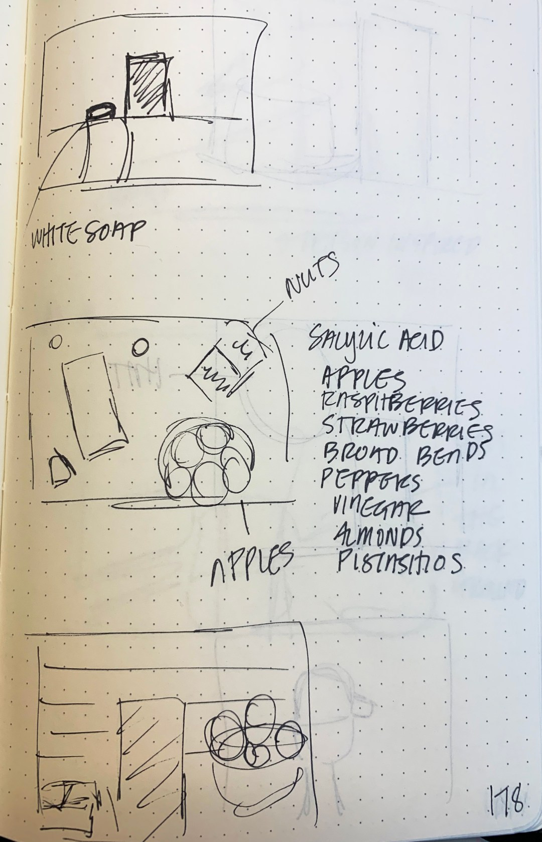 Product Photography Thumbnail Sketches
