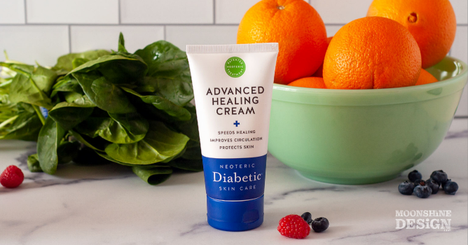 Cosmetic Product Photography for Social Media, Diabetic Healing Cream
