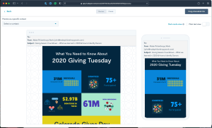 Make Philanthropy Work Optimize for Mobile Example