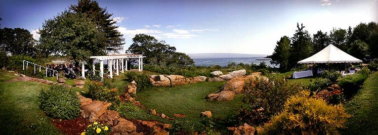 Midcoast Maine Wedding Location