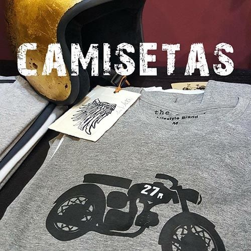 camisetas motos retro polos vespa