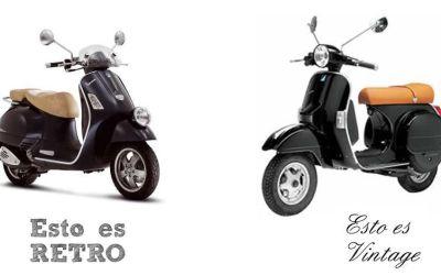 ¿Sabes la diferencia entre Retro y Vintage?