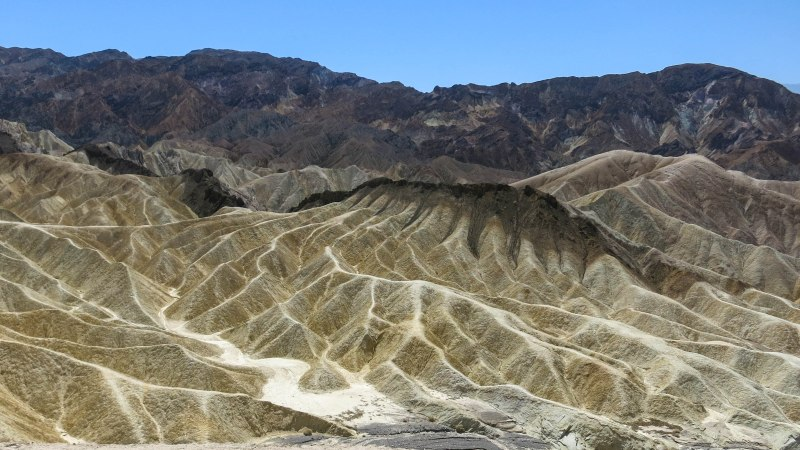 A Pictorial View of Death Valley