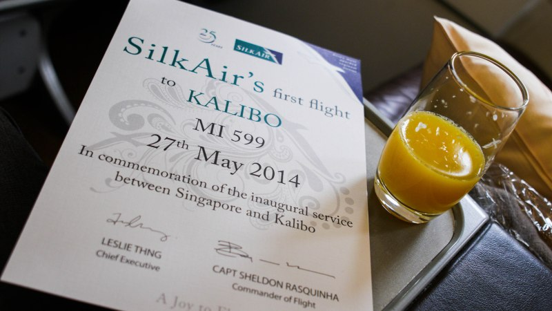 Review Of SilkAir Business Class SG-Kalibo (Boracay)