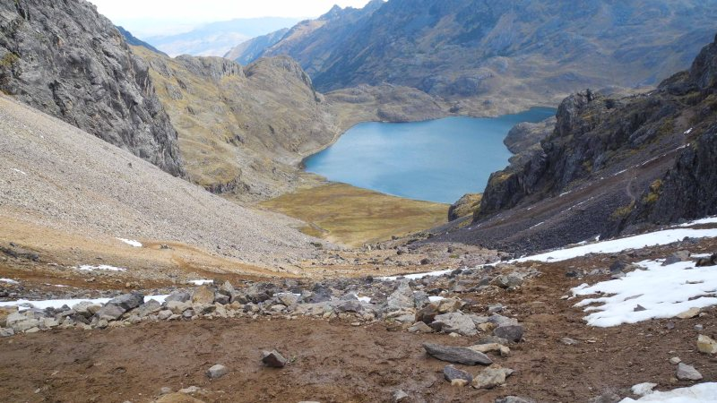 A Photography Entry of Hiking in the Andes