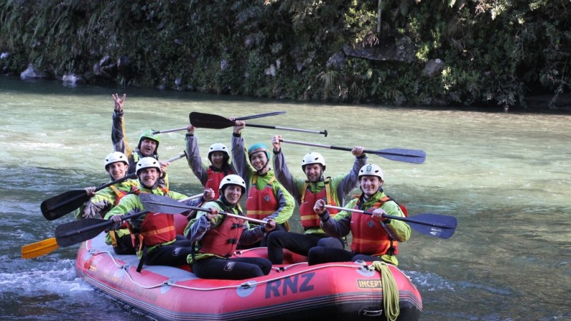 White Water Rafting in New Zealand – Tongariro River
