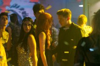 "SHADOWHUNTERS - ""Raising Hell"" - The Shadowhunters will have to put their trust in a Downworlder to access Clary's memories in ""Raising Hell,"" an all-new episode of ""Shadowhunters,"" airing Tuesday, February 2nd at 9:00 – 10:00 p.m., EST/PST on Freeform, the new name for ABC Family. (Freeform/Sven Frenzel) EMERAUDE TOUBIA, KATHERINE MCNAMARA, DOMINIC SHERWOOD"