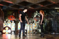 "SHADOWHUNTERS - ""Moo Shu To Go"" - Alec finds himself torn between duty and loyalty to Jace in ""Moo Shu to Go,"" an all-new episode of ""Shadowhunters,"" airing Tuesday, February 9th at 9:00 – 10:00 p.m., EST/PST on Freeform, the new name for ABC Family. (Freeform/John Medland) MATTHEW DADDARIO, KATHERINE MCNAMARA"