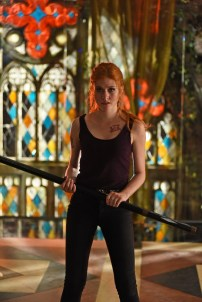 "SHADOWHUNTERS - ""Moo Shu To Go"" - Alec finds himself torn between duty and loyalty to Jace in ""Moo Shu to Go,"" an all-new episode of ""Shadowhunters,"" airing Tuesday, February 9th at 9:00 – 10:00 p.m., EST/PST on Freeform, the new name for ABC Family. (Freeform/John Medland) KATHERINE MCNAMARA"