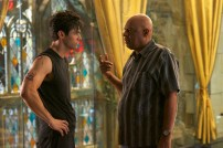 """SHADOWHUNTERS - """"Of Men and Angels"""" - Magnus and Luke reveal Clary's past in """"Of Men and Angels,"""" an all-new episode of """"Shadowhunters,"""" airing Tuesday, February 16th at 9:00 – 10:00 p.m., EST/PST on Freeform, the new name for ABC Family. (Freeform/Sven Frenzel) MATTHEW DADDARIO, OZ SCOTT (DIRECTOR)"""