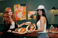FREEFORM - ABC Family Becomes Freeform today and Celebrates with a daylong multi-platform social event where fans can interact with musical artists, visual artists and talent. (Freeform/Rick Rowell) KATHERINE MCNAMARA, EMERAUDE TOUBIA