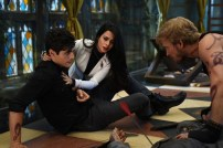 """SHADOWHUNTERS - """"Bad Blood"""" - Alec and Clary are forced to make some hard decisions in """"Bad Blood,"""" an all-new episode of """"Shadowhunters,"""" airing Tuesday, March 1st at 9:00 – 10:00 p.m., EST/PST on Freeform, the new name for ABC Family. (Freeform/John Medland) MATTHEW DADDARIO, EMERAUDE TOUBIA, JON COR"""