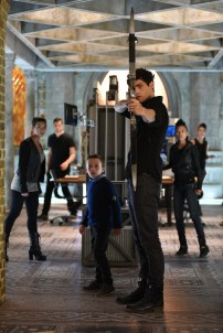 """SHADOWHUNTERS - """"Bad Blood"""" - Alec and Clary are forced to make some hard decisions in """"Bad Blood,"""" an all-new episode of """"Shadowhunters,"""" airing Tuesday, March 1st at 9:00 – 10:00 p.m., EST/PST on Freeform, the new name for ABC Family. (Freeform/John Medland) JACK FULTON, MATTHEW DADDARIO"""