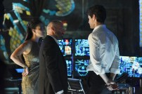 """SHADOW HUNTERS - """"Morning Star"""" - Time is running out for the Shadowhunters to stop Valentine in """"Morning Star,"""" the season finale of """"Shadowhunters,"""" airing TUESDAY, APRIL 5 (9:00 - 10:00 p.m. EDT) on Freeform. (Freeform/John Medland) NICOLA CORREIA DAMUDE, PAULINO NUNES, MATTHEW DADDARIO"""
