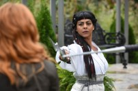 "SHADOWHUNTERS - ""Iron Sisters"" - Clary and Isabelle head to The Citadel looking for answers in ""Iron Sisters,"" an all new episode of ""Shadowhunters,"" airing MONDAY, FEBRUARY 6 (8:00 – 9:00 PM EDT) on Freeform. (Freeform/John Medland) FARAH MERANI"