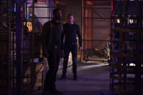 "SHADOWHUNTERS - ""Bound By Blood"" - Clary is sidelined by Iris' blood oath, while the Downworld begins to fall apart, in ""Bound By Blood,"" an all-new episode of ""Shadowhunters,"" airing MONDAY, FEBRUARY 27 (8:00 - 9:01 p.m. EST), on Freeform. (Freeform/John Medland) ISAIAH MUSTAFA, DOMINIC SHERWOOD"