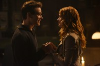 """SHADOWHUNTERS - """"Mea Maxima Culpa"""" - Everyone is dealing with the aftermath of the Soul Sword attack at the Institute in ÒMea Maxima Culpa,Ó the summer premiere of ÒShadowhunters,Ó airing MONDAY, JUNE 5 (8:00 - 9:00 PM EDT) on Freeform and on the Freeform app. (Freeform/John Medland) ALBERTO ROSENDE, KATHERINE MCNAMARA"""