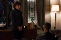 """SHADOWHUNTERS - """"Those of Demon Blood"""" - After several Shadowhunters are killed, The Institute turns to controversial methods to prevent a Downworlder uprising in ÒThose of Demon Blood,Ó an all-new episode of ÒShadowhuntersÓ airing Tuesday, June 19 (8:00 - 9:00 PM ET/PT). (Freeform/John Medland) MIMI KUZYK, ISAIAH MUSTAFA"""