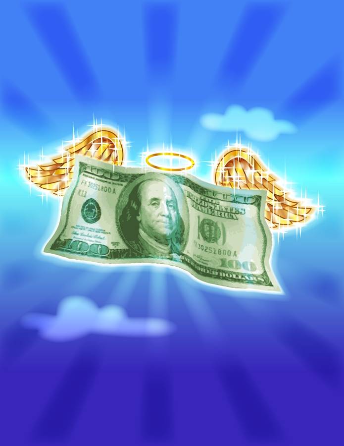Savings fly away